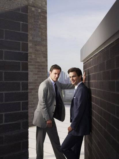 """WHITE COLLAR"" From left, Tim DeKay as Peter Burke and Matt Bomer as Neal Caffrey - Photo by: Eric Ogden/USA Network"