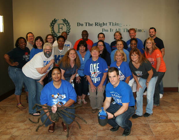 Do the right thing and THUNDER UP!!! Employees at Foundation Surgery Affiliates