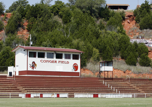 Purcell's Conger Field. PHOTO BY STEVE SISNEY, THE OKLAHOMAN