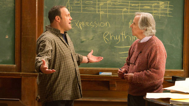Kevin James and Henry Winkler in &quot;Here Comes the Boom.&quot; Sony Pictures Entertainment. &lt;strong&gt;&lt;/strong&gt;