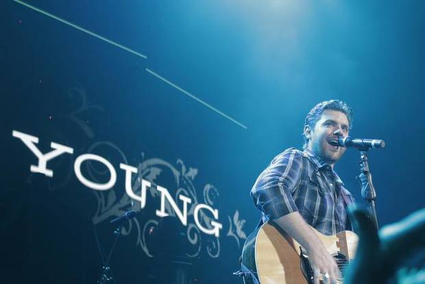 Chris Young (Photo by Nathan Poppe, The Oklahoman Archive)