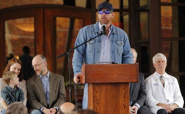 Toby Keith Wife And Kids Toby keith speaks during the