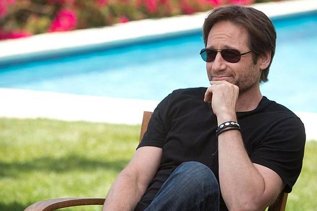 David Duchovny as Hank Moody in Californication (Season 6, Episode 3) - Photo:  Jordin Althaus/SHOWTIME - Photo ID: Californication_603_0346