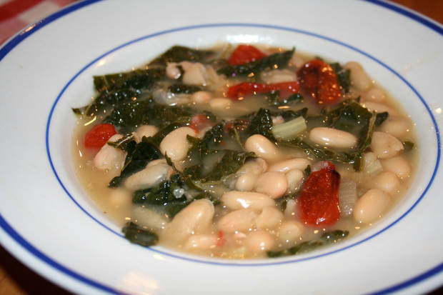 Tuscan White Bean Soup is made for chilly winter days. PHOTO PROVIDED
