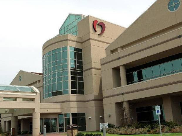 BUILDING EXTERIOR: The Oklahoma Heart Hospital South in Oklahoma City. Photographed on Monday, June 5, 2010. Photo by John Clanton, The Oklahoman ORG XMIT: KOD ORG XMIT: OKC1006071610034126