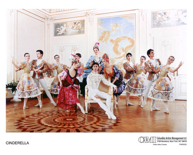 Members of the Russian National Ballet show a scene from �Cinderella.�  Photo provided