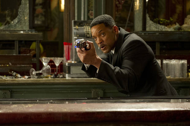 "Will Smith stars in Columbia Pictures' action adventure comedy ""Men in Black 3.""  Columbia Pictures. <strong>WILSON WEBB</strong>"