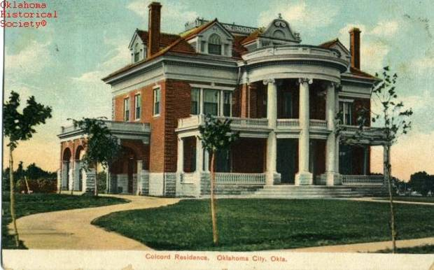 The Colcord Mansion was perhaps the biggest loss suffered by Heritage Hills.