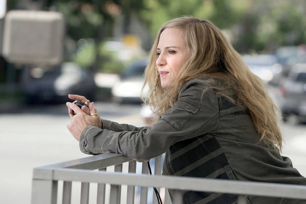 "Holly Hunter stars in ""Saving Grace.""TNT PHOTO"