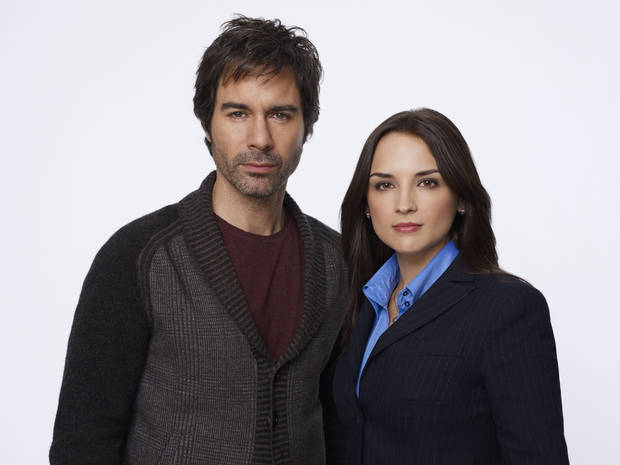 "Eric McCormack and Rachael Leigh Cook of ""Perception"" - TNT Photo"