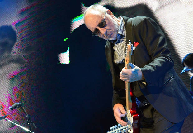 "The Who's Pete Townshend performs during The Who ""Quadrophenia and More"" World Tour opening night Nov. 1 at BB&T Center in Sunrise, Fla.  PHOTO PROVIDED <strong>Rick Diamond</strong>"