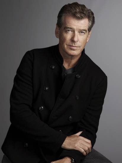 Pierce Brosnan - A&E Network Photo