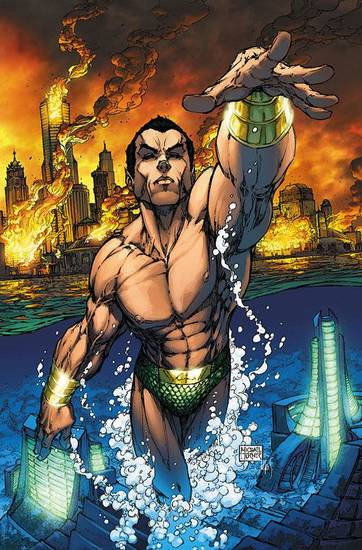 Namor the Sub-Mariner by Michael Turner