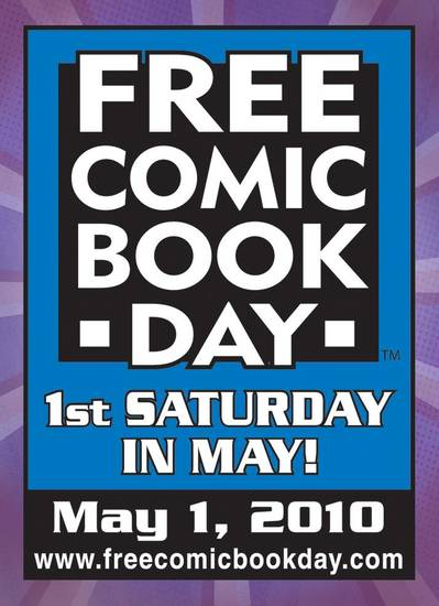 Free Comic Book Day Logo