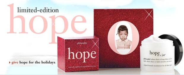 Limited-edition Hope in a Jar with Oprah's picture