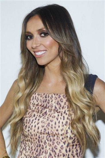 "FILE - In this Sept. 12, 2011 file photo, TV personality Giuliana Rancic attends the Rachel Zoe Spring 2012 fashion show during Mercedes-Benz Fashion Week in New York. Six weeks after revealing that she has breast cancer, E! News host Giuliana Rancic, 37, announced Monday, Dec. 5, 2011, on NBC's ""Today"" show that she will have a double mastectomy.  (AP Photo/Charles Sykes, file)"