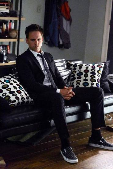 """Blind Sided"" -- Pictured: Patrick J. Adams as Mike Ross -- (Photo by: Shane Mahood/USA Network)"