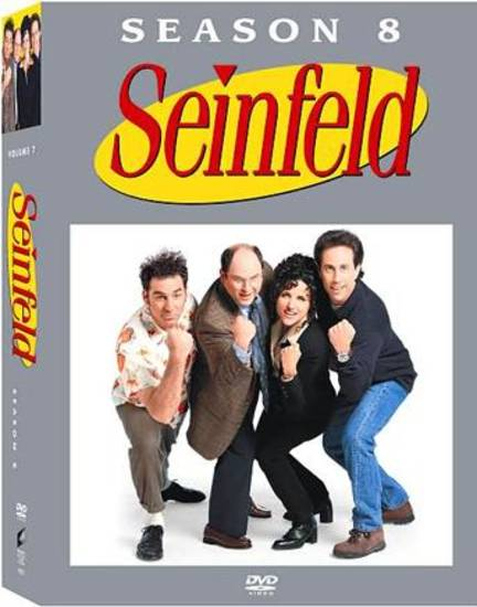 'Seinfeld - Season 8' DVD cover     ORG XMIT: 0705171605220264