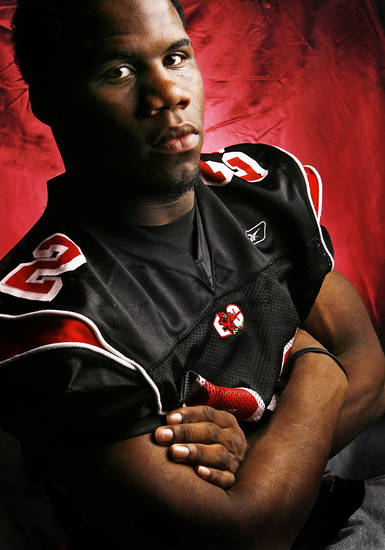 Tulsa East Central High School's Kenneth Session All State Half Back.
