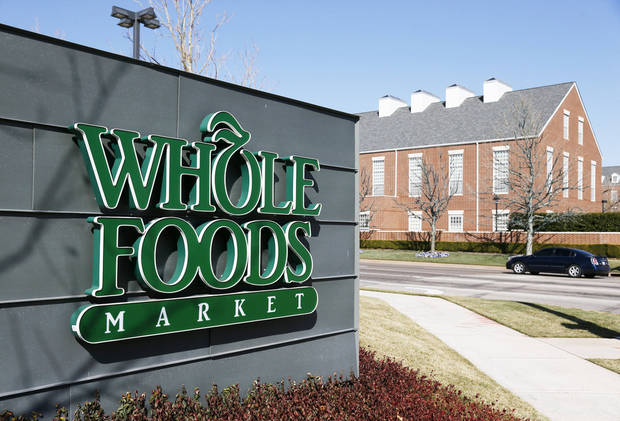 Whole Foods Market, in the Triangle, sits across the street from the Chesapeake Energy campus in Oklahoma City. Photos by Nate Billings, The Oklahoman