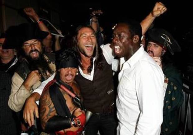 Zach McGowan (center), Hakeem Kae-Kazim (right) - Provided Photo