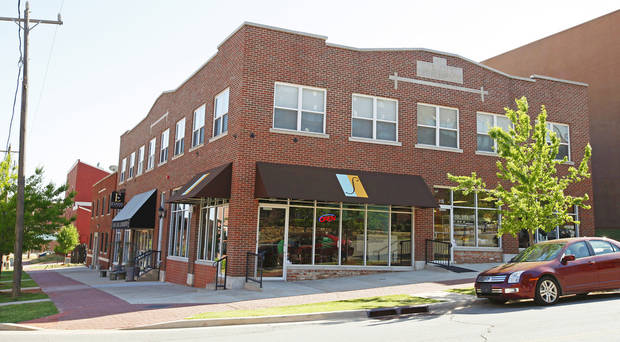 The Sage Gourmet Market and Cafe, 228 NE 2, is part of a growing mixed-use downtown neighborhood — Deep Deuce — that includes rental and owner-occupied housing, restaurants, a corporate furnishings shop, and office space. PHOTO BY BRYAN TERRY, THE OKLAHOMAN