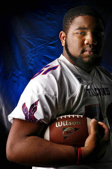 Millwood High School's Clifford Morgan All Little City Offensive Lineman.