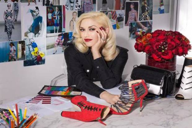 Gwen Stefani launches new accessories collection: gx by Gwen Stefani available exclusively at ShoeDazzle.com/gx.  (PRNewsFoto/ShoeDazzle)
