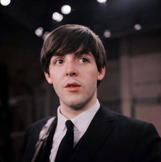 Paul McCartney in 1964 (AP)