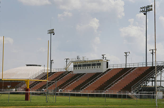C.B. Speegle Stadium, Friday, September 4, 2009. Photo from The Oklahoman Archives. ORG XMIT: KOD
