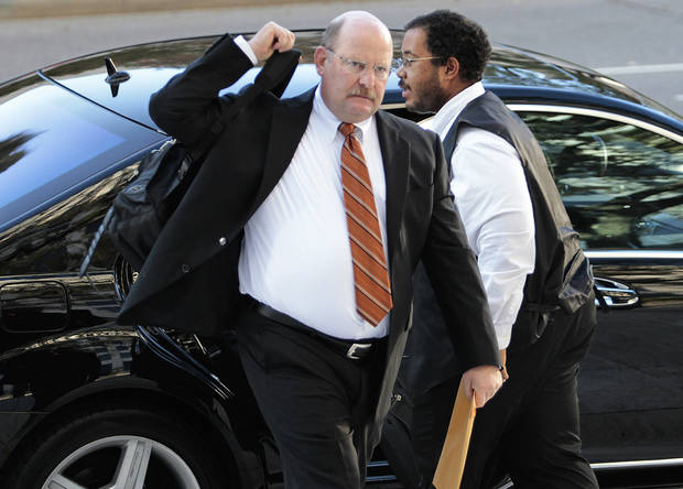Former Minnesota Vikings head coach Brad Childress appears for appeal hearings in the NFL's bounty investigation of the New Orleans Saints football team, Monday, Dec. 3, 2012, in New Orleans. (AP Photo/The Times-Picayune, Ted Jackson) MAGS OUT; NO SALES; USA TODAY OUT