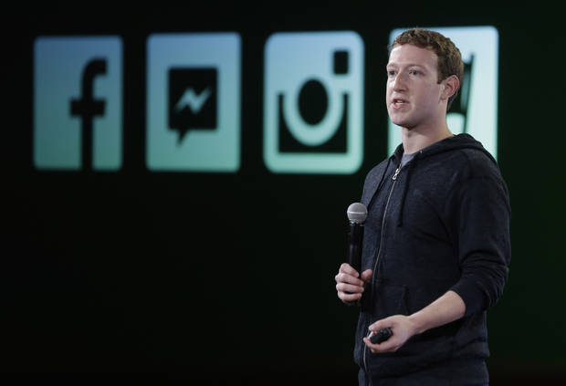 Facebook CEO Mark Zuckerberg talks about Instagram's new video feature at the company's headquarters in Menlo Park, Calif., Thursday, June 20, 2013. (AP Photo/Marcio Jose Sanchez)