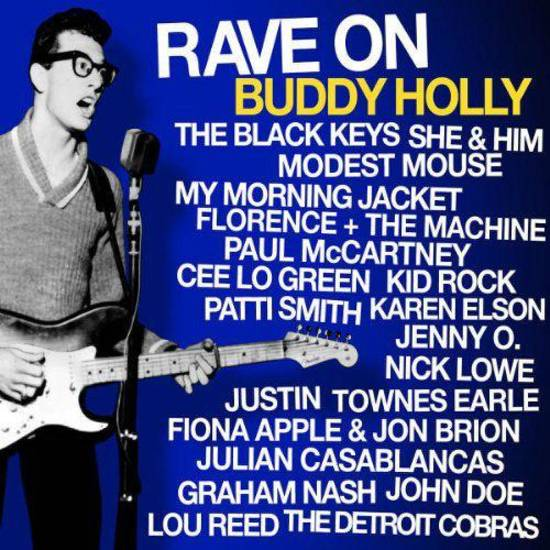 "Various artists ""Rave On Buddy Holly"" CD cover      ORG XMIT: 1106301535118996"