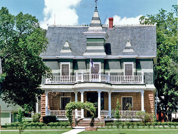 Frederick Drummond, whose 1905 Victorian-style Hominy home pictured here was given to the Oklahoma Historical Society in 1981, founded the Hominy Trading Co. and was one of Oklahoma�s early settlers. PHOTO PROVIDED