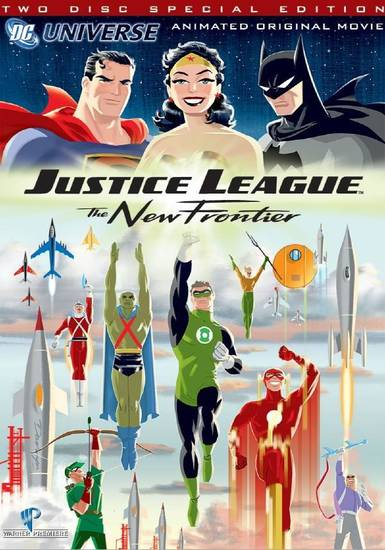 Justice League: The New Frontier 2 Disc Special Edition DVD