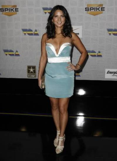 Olivia Munn at Spike TV's Video Game Awards on Saturday, Dec. 11, 2010. (AP)