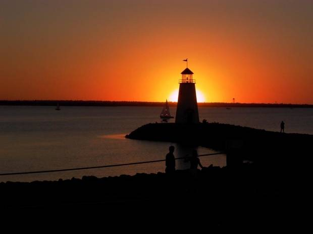 Lake Hefner Sunset