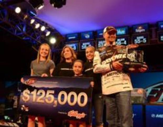 Oklahoma angler Jason Christie won his second FLW tournament last weekend.