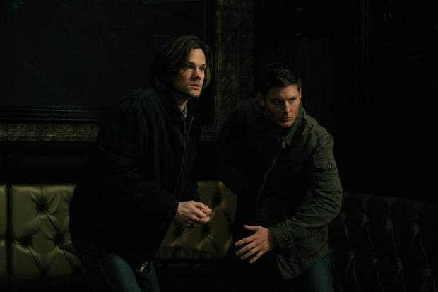 "Supernatural -- ""Man's Best Friend With Benefits"" -- Image SN815a_0252 -- Pictured: Jared Padalecki as Sam and Jensen Ackles as Dean -- Credit: Marcel Williams/The CW -- © 2013 The CW Network. All Rights Reserved"