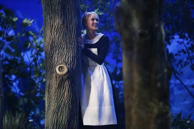 "This photo provided by NBC shows Carrie Underwood as Maria in ""The Sound of Music Live!,"" which aired Thursday, December 5, 2013, on NBC"