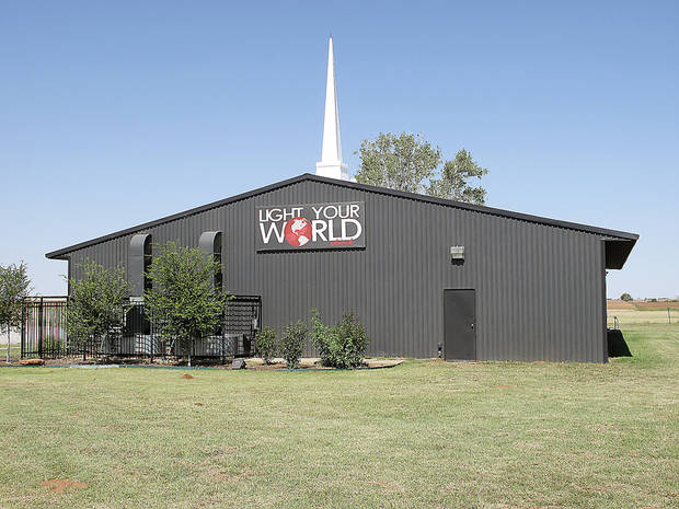The congregation at Light Your World Church, 4550 Northwest Expressway in Okarche, will celebrate its first anniversary on Sunday. <strong>CARLA HINTON - CARLA HINTON</strong>