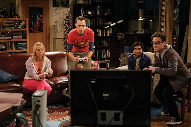 """CBS Photo featuring the cast of """"The Big Bang Theory"""""""