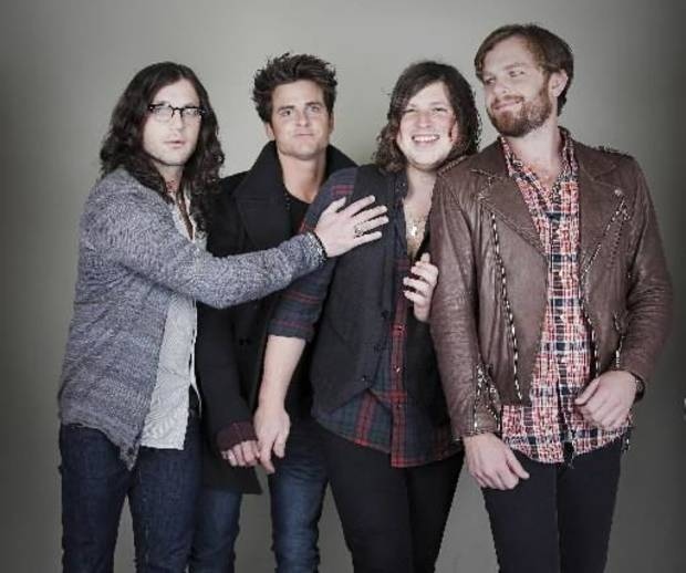 Kings of Leon are, from left, Nathan Followill, Jared Followill, Matthew Followill and Caleb Followill. (AP file)