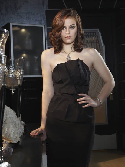 "Cassidy Freeman in ""Smallville."""