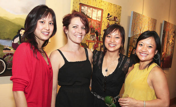 Tray-C Tran, Emily Petree, Denise Duong, Tina Duong.  PHOTOS BY DAVID FAYTINGER, FOR THE OKLAHOMAN