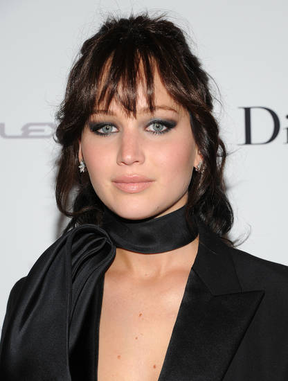 "Actress Jennifer Lawrence attends a special screening of ""Silver Linings Playbook"" hosted by Dior at Florence Gould Hall on Sunday Nov. 11, 2012 in New York. (Photo by Evan Agostini/Invision/AP)"