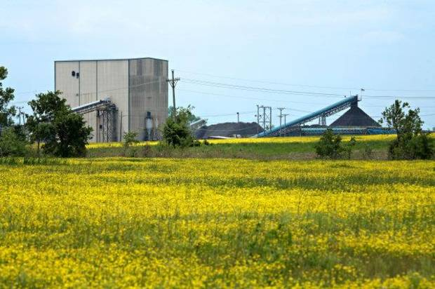 Alliance's Hopkins County Coal preparation plant in Madisonville, Kentucky, in 2010. <strong> - provided</strong>