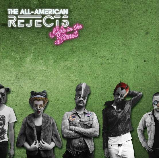 The All-American Rejects &quot;Kids in the Street&quot; CD cover     ORG XMIT: 1204051529267847