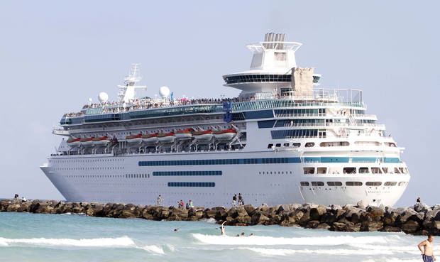 Cruise Liner Majesty of the Seas heads out to sea in Miami Beach, Fla. Saving money on a cruise vacation requires timing and knowledge. AP Archives Photo