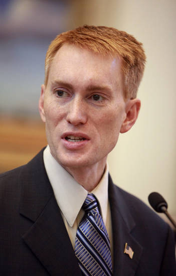 5th Congressional District candidate James Lankford speaking to a group of emergency medical technician students from Oklahoma City Community College sitting in the House chambers at the state Capitol in Oklahoma City Monday, Oct. 4, 2010. Photo by Paul B. Southerland, The Oklahoman
